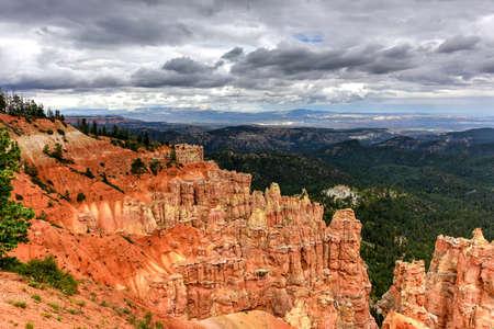 Ponderosa Canyon at Bryce Canyon National Park in Utah, United States.