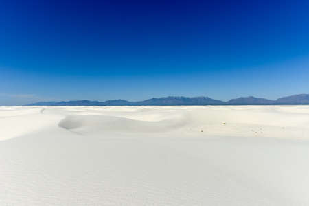 White Sands National Monument in New Mexico.