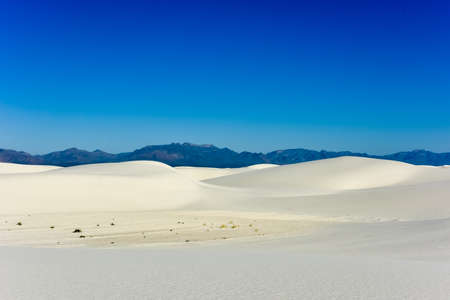 alamogordo: White Sands National Monument in New Mexico.