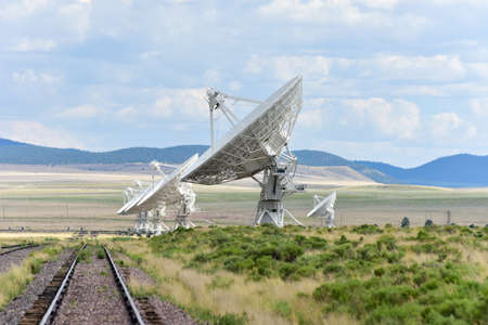 extra terrestrial: The Karl G. Jansky Very Large Array (VLA) is a radio astronomy observatory located on the Plains of San Agustin in New Mexico. Editorial