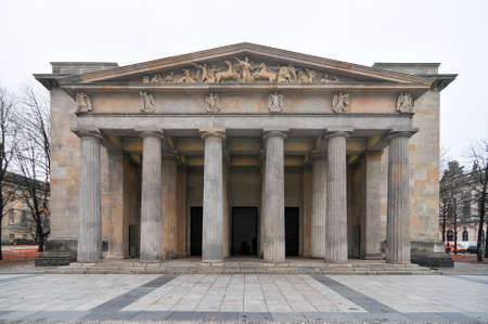 guard house: New Guard House (Neue Wache) in Berlin, Germany. It is the Central Memorial of the Federal Republic of Germany for the Victims of War and Dictatorship.