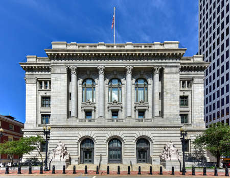 The Federal Building is a historic post office, courthouse and custom house on Kennedy Plaza in downtown Providence, Rhode Island.