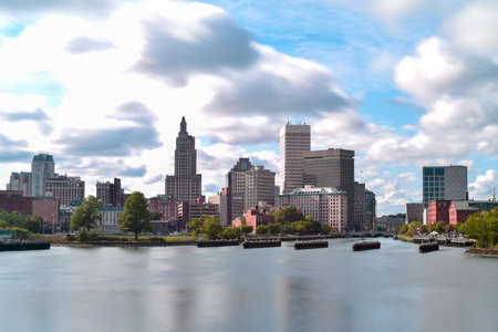 providence: View of Downtown Providence, Rhode Island Editorial