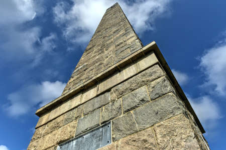 The Groton Monument, also called the Fort Griswold Monument, is a granite monument in Groton, Connecticut dedicated to the defenders who fell during the Battle of Groton Heights on September 6, 1781.