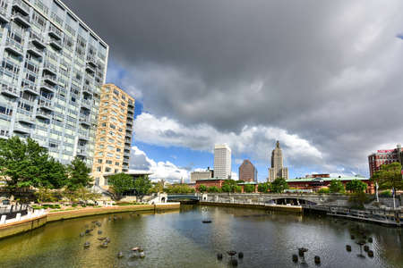 providence: Providence, Rhode Island cityscape at Waterplace Park. Editorial