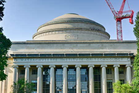 The Great Dome of the Massachusetts Institute of Technology.