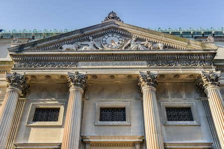 bowery: The Bowery Savings Bank of New York City. Stock Photo