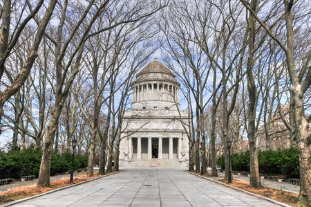 Grant's Tomb, the informal name for the General Grant National Memorial, the final resting place of Ulysses S. Grant, the 18th President of the United States, and his wife, Julia Dent Grant in NYC. Stock fotó - 67057453