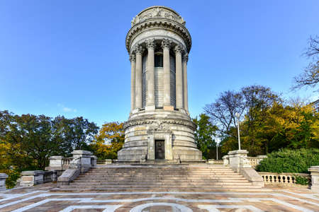 The Soldiers and Sailors Memorial Monument in Riverside Park in the Upper West Side of Manhattan, New York City, commemorates Union Army soldiers and sailors who served in the American Civil War.