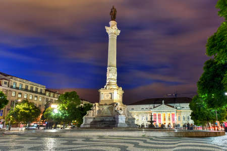 Rossio Square is the popular name of the Pedro IV Square in the city of Lisbon, in Portugal.