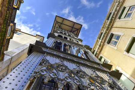 law of portugal: The Santa Justa Lift also called Carmo Lift, is an elevator, or lift, in the civil parish of Santa Justa, in the historical city of Lisbon, Portugal.