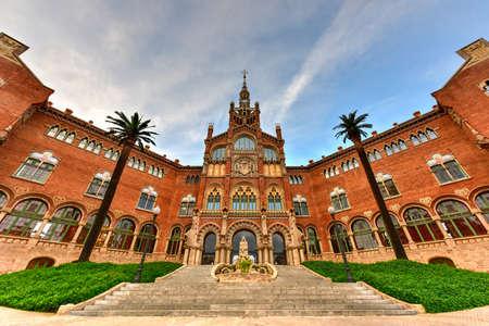 Hospital Sant Pau Recinte Modernista in Barcelona, Catalonia, Spain