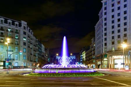 Jardins de la Reina Victoria is a garden in Barcelona and is nearby to Placa de Catalunya, Eixample Esquerra and Plaza Nova. Jardins de la Reina Victoria is also close to Passeig de Gracia. Reklamní fotografie