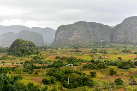 quite: Panorama of Vinales valley, north of Cuba.
