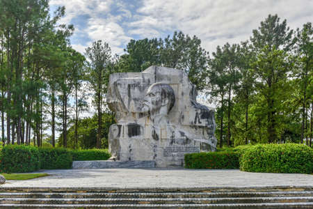 Memorial Monument in Lenin Park, Havana Cuba. Editorial