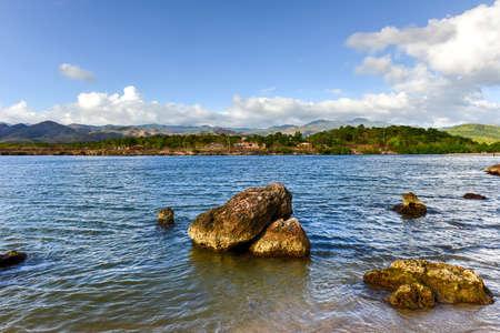La Boca resort area in the in the Sanctus Spiritus Region of Cuba.