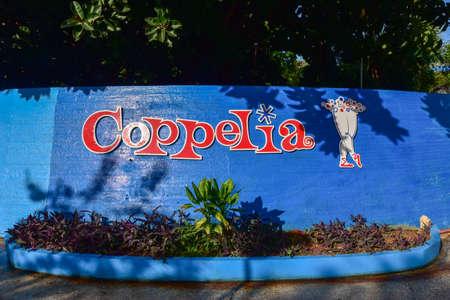 Havana, Cuba - Jan 14, 2017: The famous Coppelia Ice Cream parlour in Havana, Cuba.