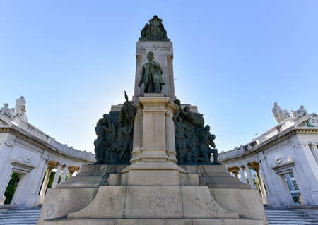 Jose Miguel Gomez monument in Avenue of the Presidents. He was a Cuban who was one of the leaders of the rebel forces in the Cuban War of Independence and President of Cuba. Editorial