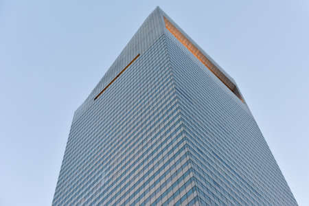 The Citigroup Center (formerly Citicorp Center and now known as its address, 601 Lexington Avenue) office tower in New York City in midtown Manhattan. Editorial