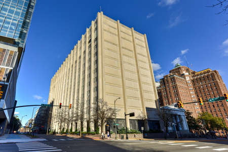 Virginia Commonwealth University Medical Center building in Richmond, Virginia.