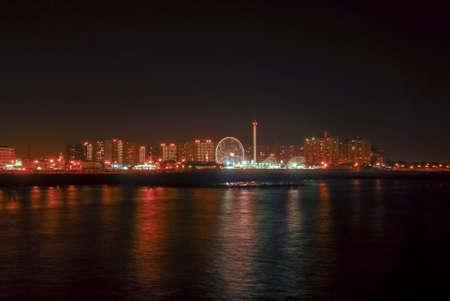Coney Islands Luna Park in Brooklyn, New York. Stock Photo