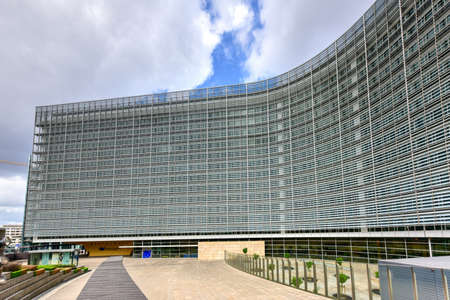 eec: The Berlaymont is an office building in Brussels, Belgium, that houses the headquarters of the European Commission, which is the executive of the European Union (EU).