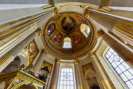 citytrip: Paris, France - May 16, 2017: The Musee de lArmee (Army Museum) national military museum of France located at Les Invalides in the 7th arrondissement of Paris.