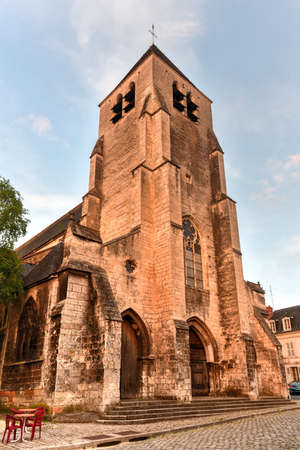 Church of Saint-Pierre-le-Guillard of Bourges, located in Bourges, France.