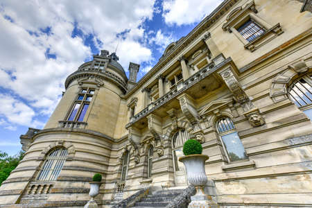 Chateau de Chantilly, historic chateau located in the town of Chantilly, France.