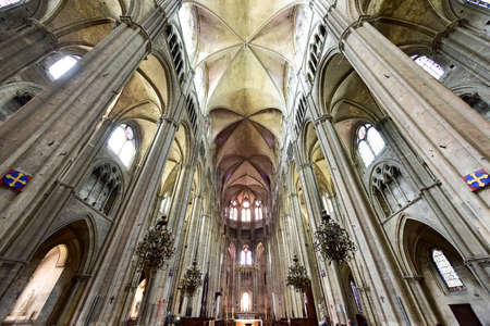 stephen: Bourges Cathedral, Roman Catholic church located in Bourges, France.