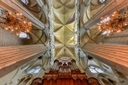 Bourges Cathedral, Roman Catholic church located in Bourges, France.