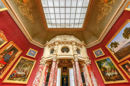 Conde Museum in the castle of Chantilly, France.