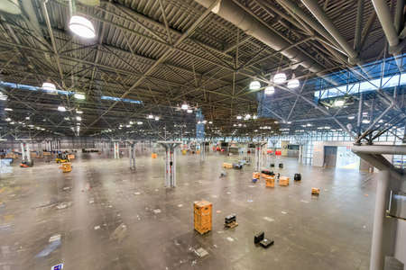 attendee: Jacob K. Javits Convention Center in New York City.