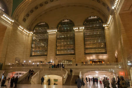 Main Hall in Grand Central Terminal, New York