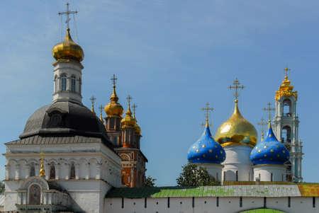 Architectural Ensemble of the Trinity Sergius Lavra in Sergiev Posad, Russia