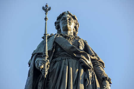 Monument to Catherine the Great in Saint Petersburg, Russia