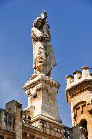 Notre Dame de Jerusalem, Notre Dame de France - Catholic monastery and guesthouse in Jerusalem, Israel