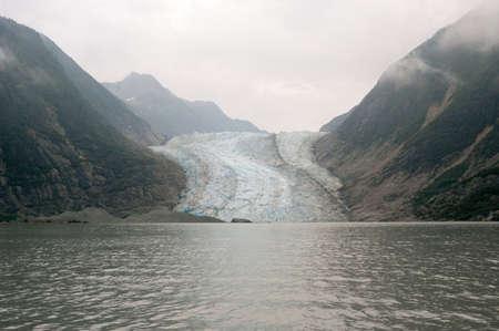 Davidson Glacier near Glacier Point in Southeast Alaska