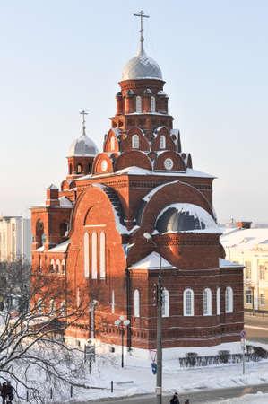 Trinity (Troitskaya) Church in Vladimir, Russia in the winter. Editorial