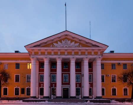 정부 블라디미르, 러시아에서 황금 반지에서 내무의 건물. 스톡 콘텐츠
