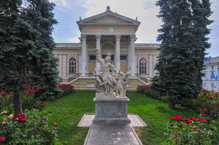 Odessa Archaeological Museum, one of the oldest archaeological museums in Ukraine, founded in 1825. 報道画像