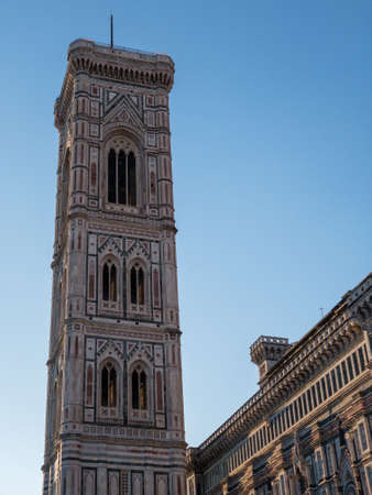 Florence Duomo. Basilica di Santa Maria del Fiore (Basilica of Saint Mary of the Flower) in Florence, Italy.