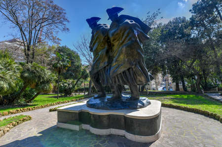 Monument of the Bicentennial of the Carabinieri in Rome, Italy Editorial