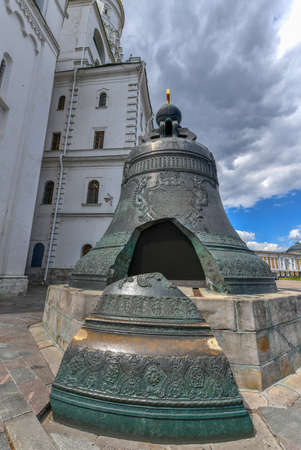 Tsar Bell is the largest in the world, Moscow Kremlin, Russia