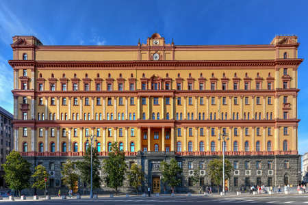 Lubyanka is the name for the headquarters of the FSB and affiliated prison on Lubyanka Square in Meshchansky District of Moscow, Russia. 新聞圖片