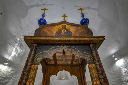 Suzdal, Russia - Interior of the Bell Tower at the Suzdal Kremlin, Russia. Editorial