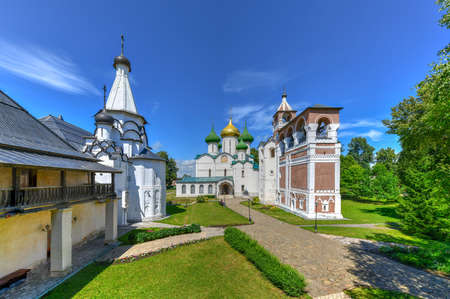 Cathedral of the Transfiguration of the Saviour, Monastery of Saint Euthymius in Suzdal, Russia.