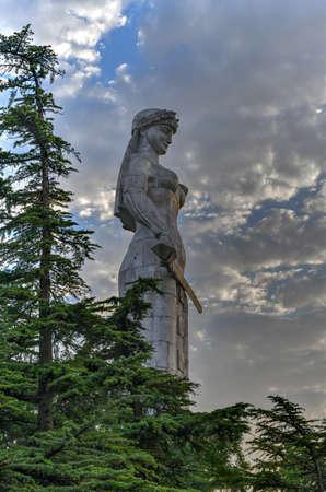 Kartlis Deda (Mother of a Georgian) monument in Tbilisi, Georgia.