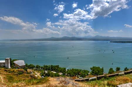 Lake Sevan, the largest lake in Armenia and the Caucasus region.