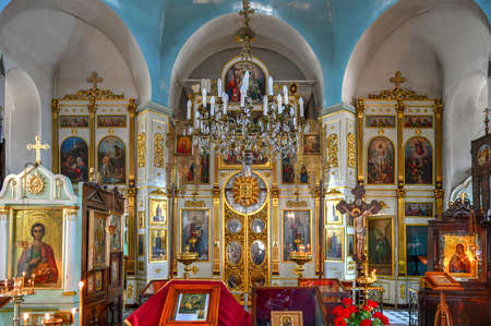 Tbilisi, Georgia - June 11, 2018: St. Alexander the Neva Church, Russian Orthodox Church in Tbilisi, Georgia